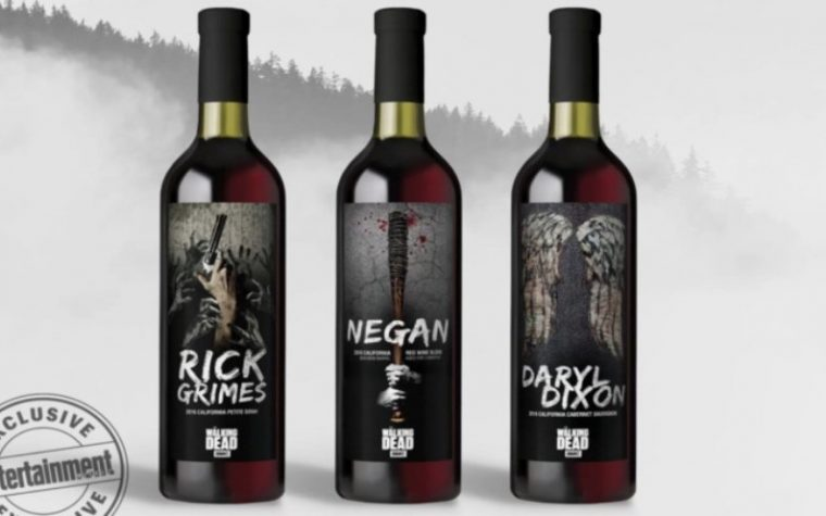 Arriva il vino targato The Walking Dead